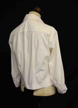 Vintage 1950s Cream Cotton Blouse