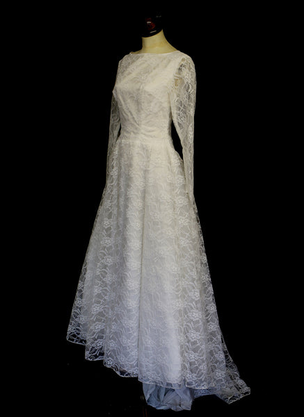 Vintage 1950s Ballgown Wedding Dress