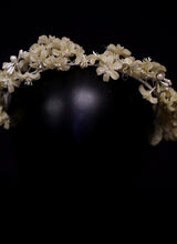 Vintage 1930s Wax Flower Crown
