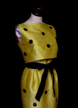 Yellow Dot Dress