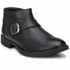 Men Black High Ankle Formal Slip On Shoes 2814