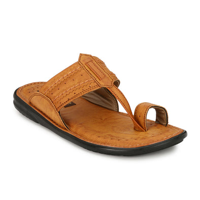Men Tan Kohlapuri Sandals 2508