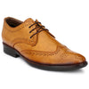 Men Tan Formal Brogue Shoes 2702