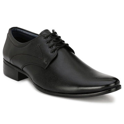Men Black Formal Derby Shoes 2008