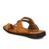 Men Tan Kohlapuri Sandals 2502