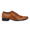 Men Tan Formal Brogue Shoes 8912