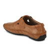 Men Tan Perforated Roman Sandals p07