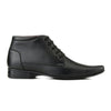 Men Black High Ankle Formal Lace up Shoes 2017