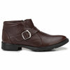 Men Brown High Ankle Formal Slip On Shoes 2814