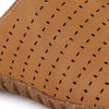 Men Tan Laser Perforated Sandals 2401
