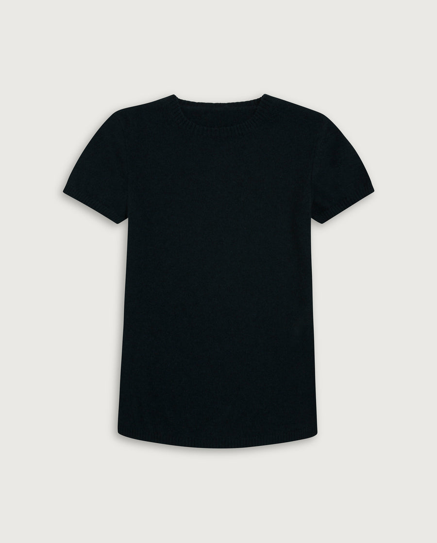 The Cashmere Tee - Elegant Dark Green