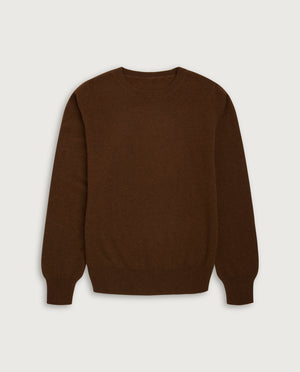 O-Neck Sweater - Milk Chocolate