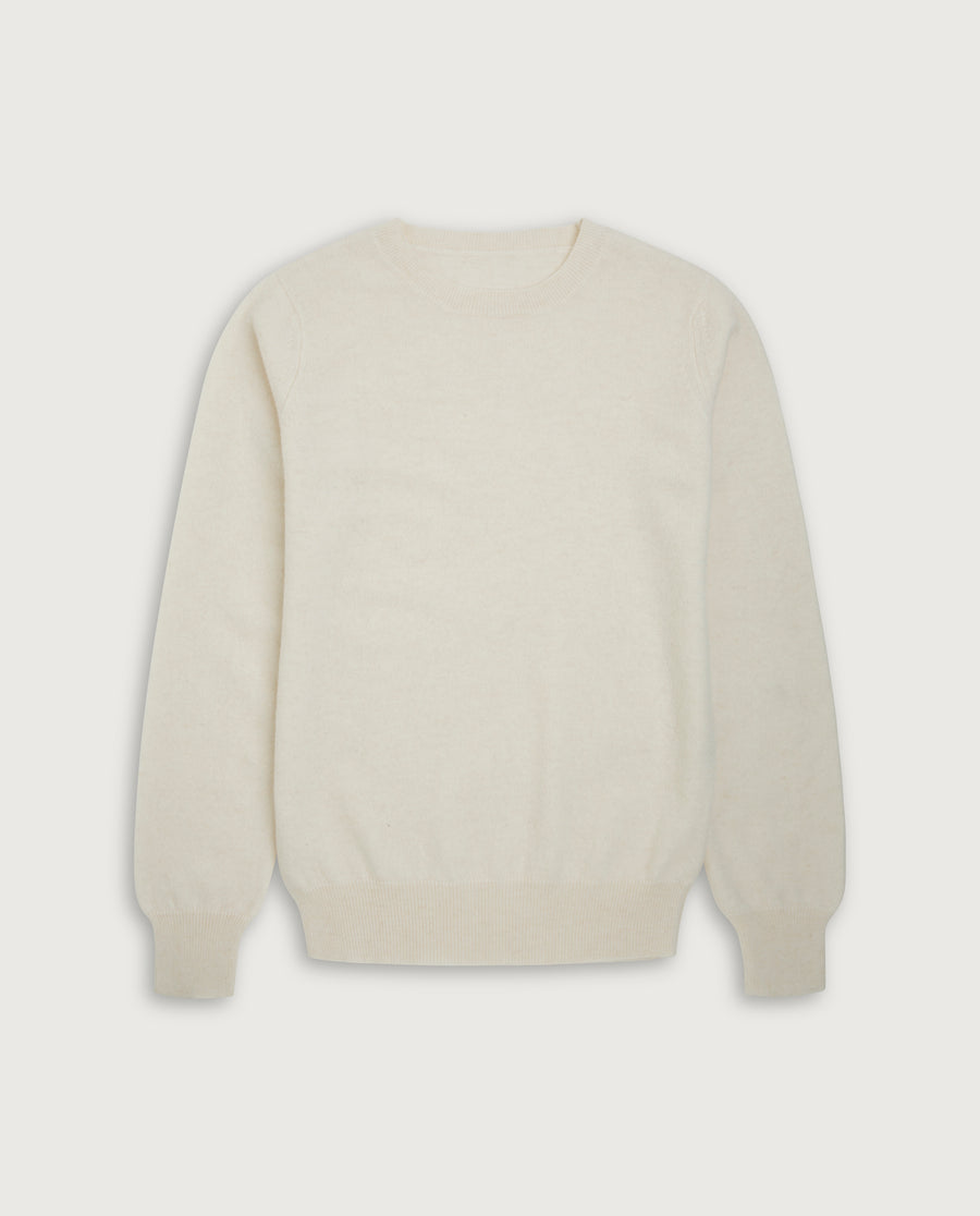 O-Neck Sweater - Off White