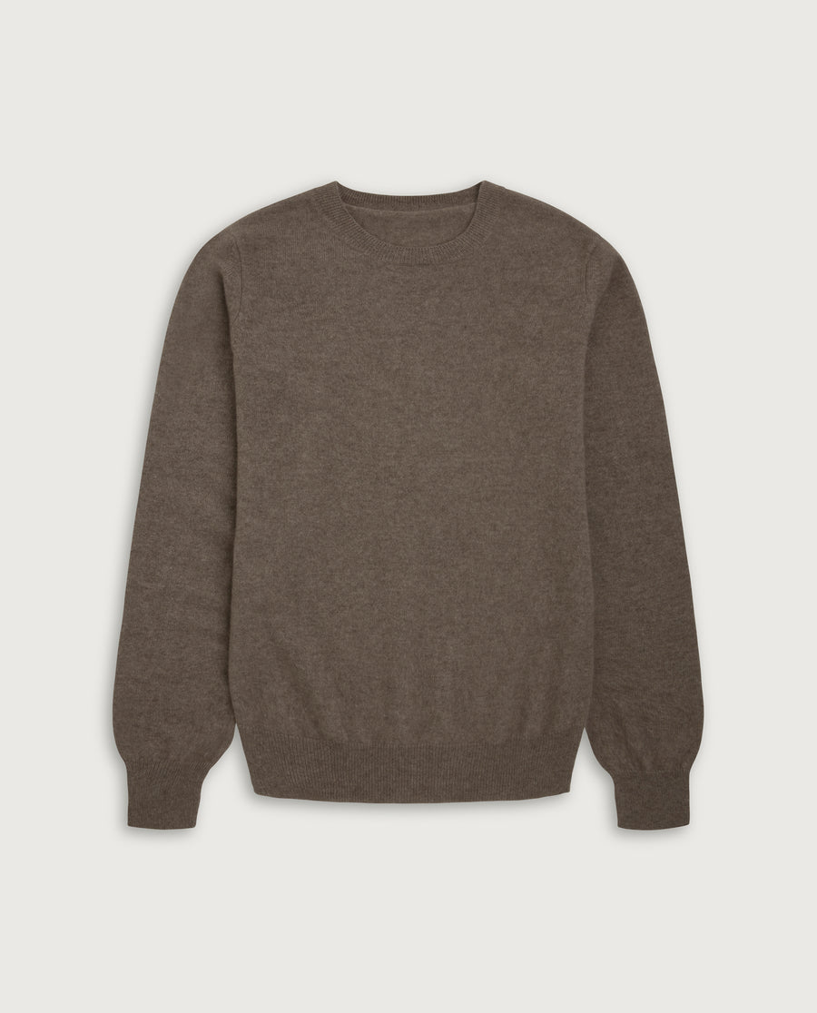 O-Neck Sweater - Natural Sand