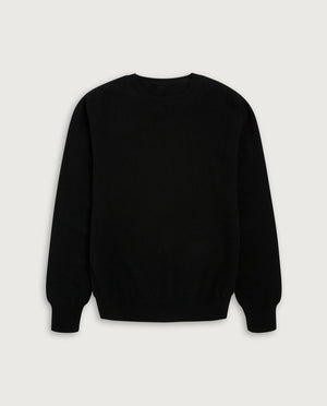 O-Neck Sweater - Elegant Dark Green
