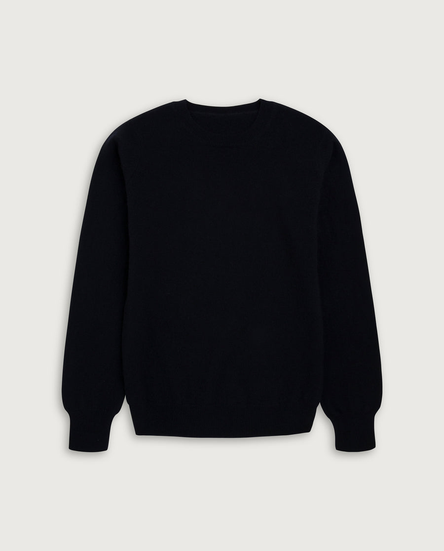 O-Neck Sweater - French Navy Blue