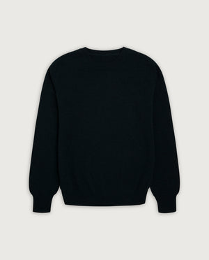 O-Neck Sweater - Always Black