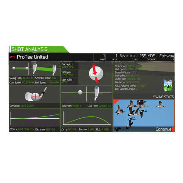 The Golf Club Simulator Software (TGC)