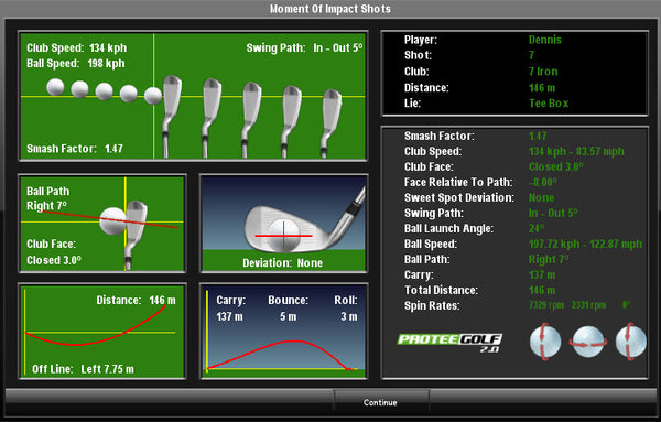 protee united golf simulator review