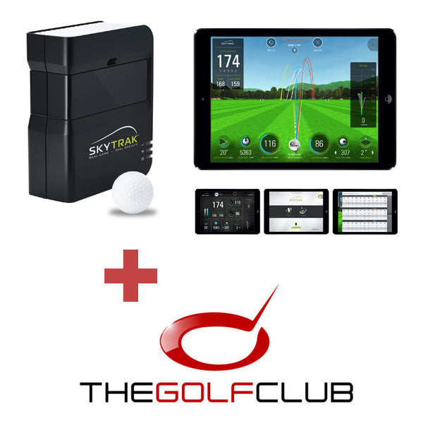 SkyTrak + The Golf Club Simulation Software (EU EDITION)