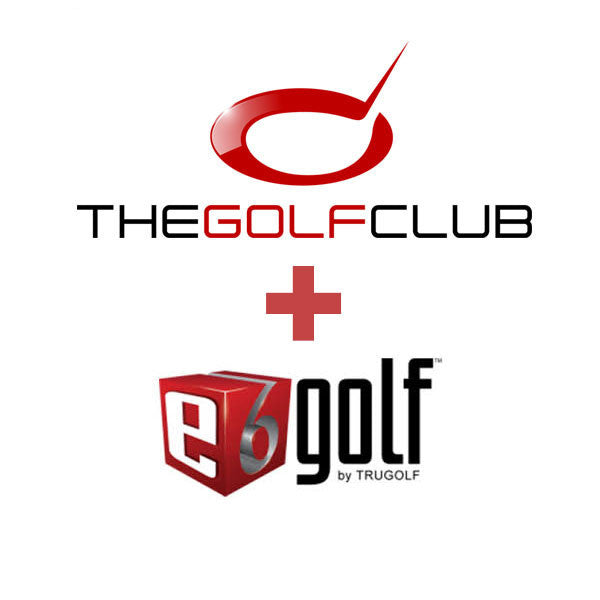 The Golf Club Simulator + TruGolf E6