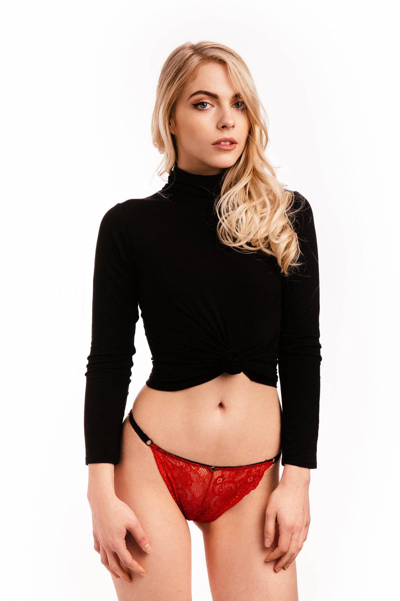 Mel Briefs Set of Three in Black - Luxe Parisian