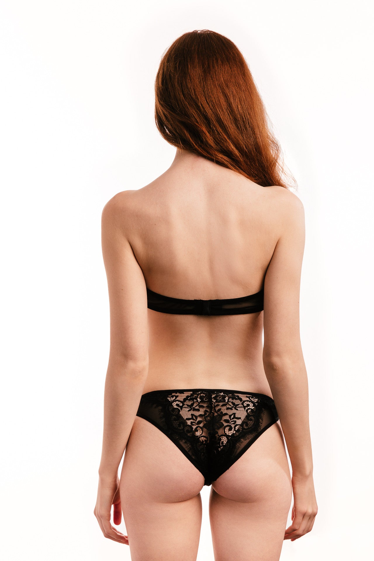 Paris Lace Set in Black - Luxe Parisian