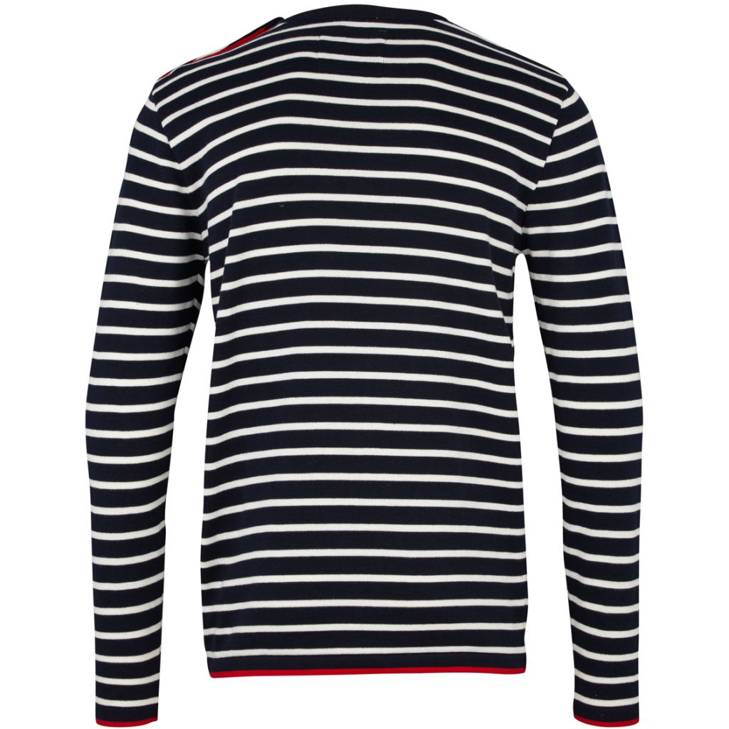 Oscar Stripe - Navy / Off White