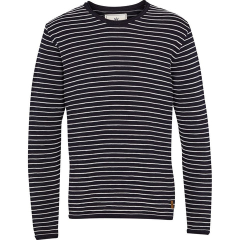 Alfie - Navy / Off White