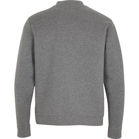 Kronstadt Abi Half Zip Sweat Dark Grey mel