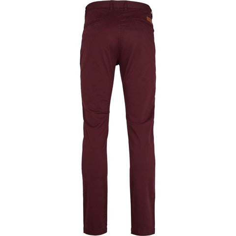 Kronstadt Daniel Stretch Pants Dark Bordeaux