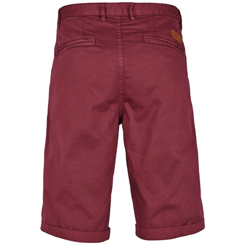 Kronstadt Jonas Stretch Shorts Dark Bordeaux