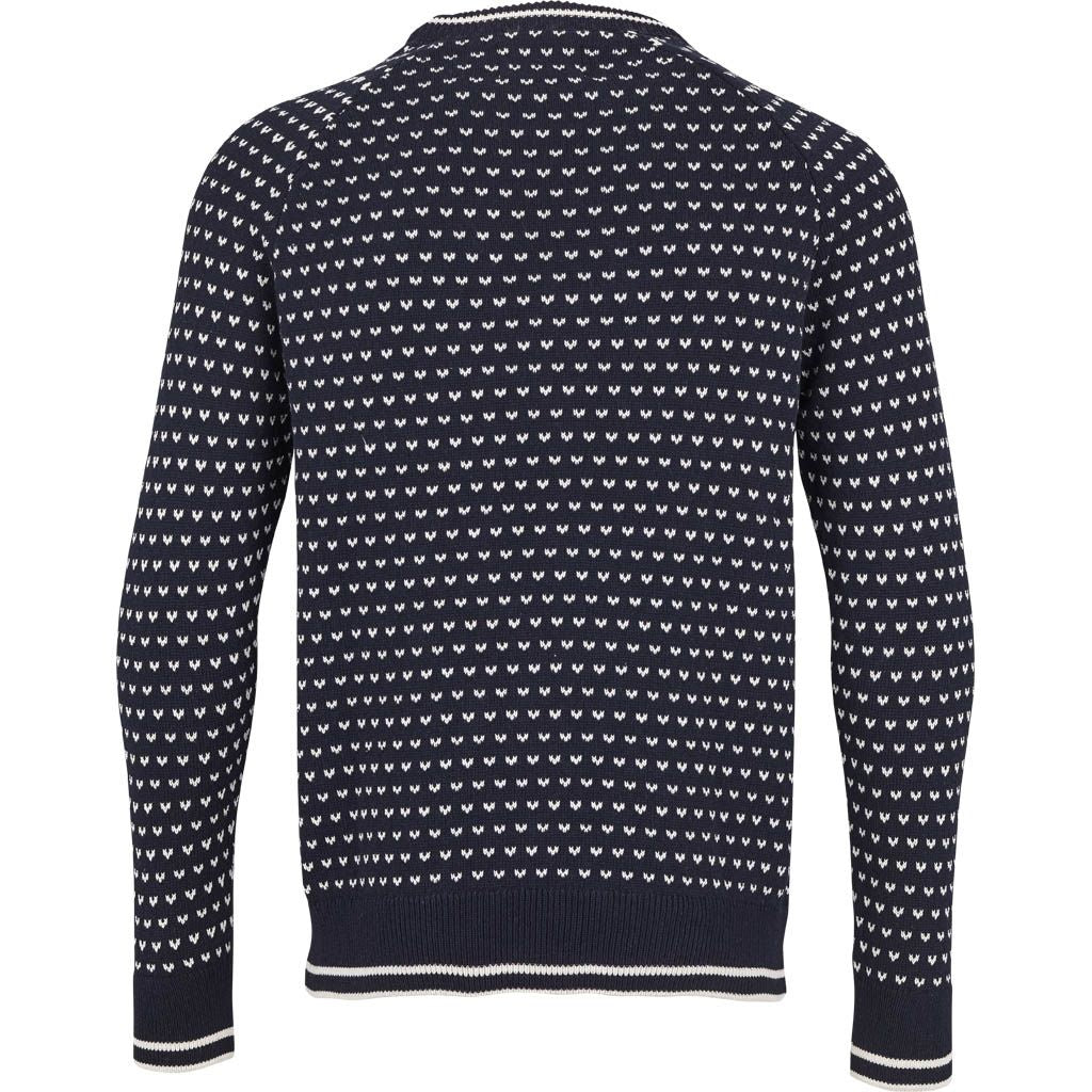 Kronstadt Alfie Knits Navy / Off White