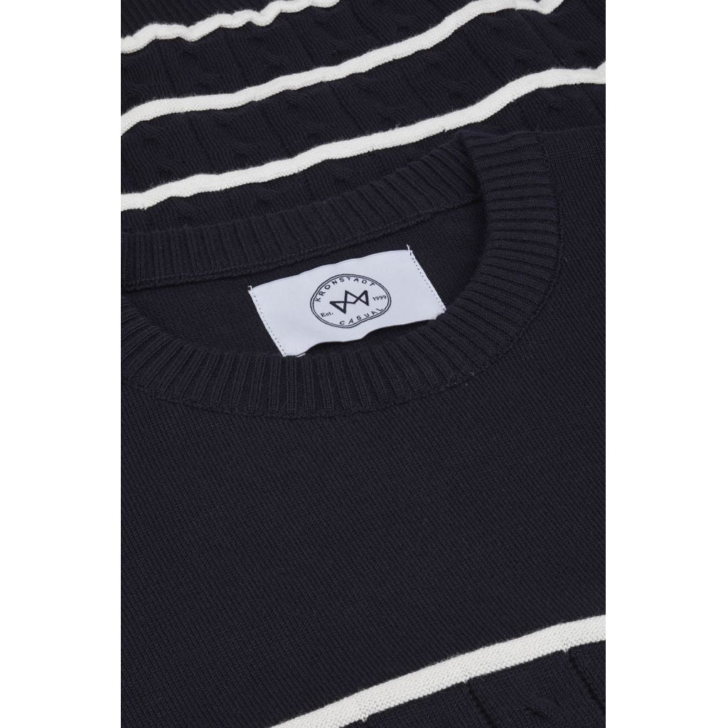 Kronstadt Benny Knits Navy / Off White