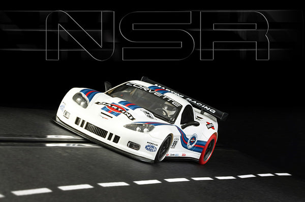 NSR-0083 Corvette C6R #99 Martini Racing Special Ed. Race-tuned