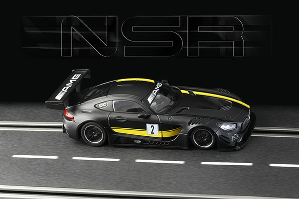 NSR-0098 Mercedes AMG-GT #2 Test Car (Black)
