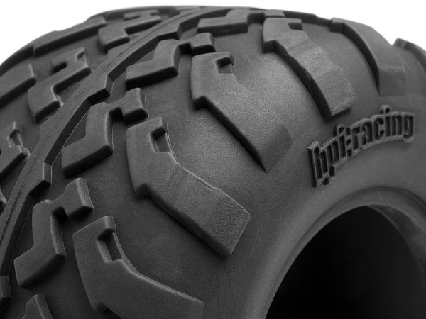 HPI #105282 - GT2 Tires D-Compound, 2.2in/(109x57)mm, for Savage XS (2x)