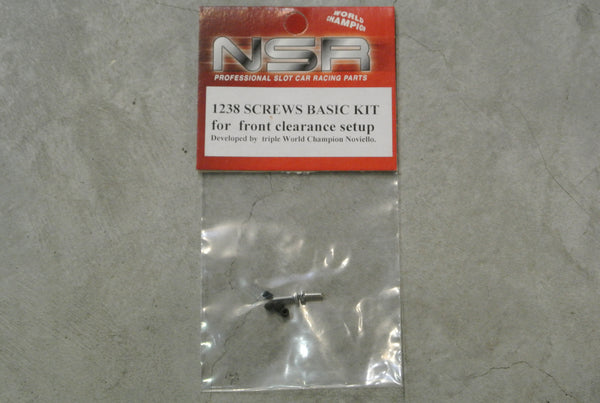 NSR-1238 Screws basic kit (for front clearance setup)