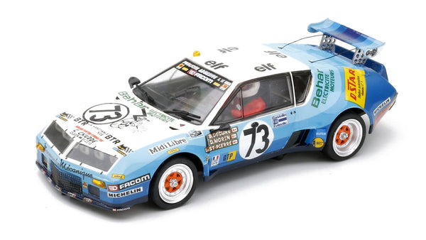 TeamSlot 12802 - Renault Alpine A310 V6 GTP  #73 Elf 24Hr LeMans 1978