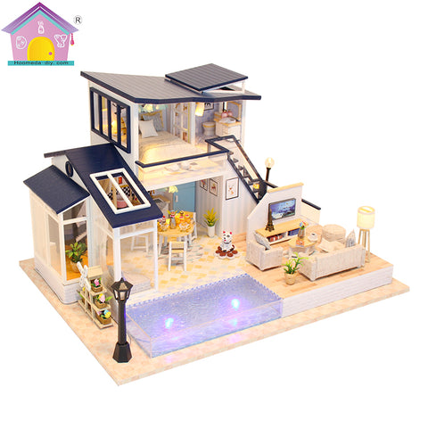 13849Z - Mermaid Tribe Luxury House (w/acrylic dust cover, tool set, musical box)