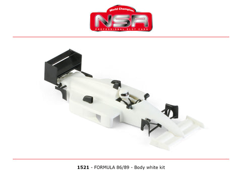 NSR-1521 Formula NSR 86/89 Body Kit (White)