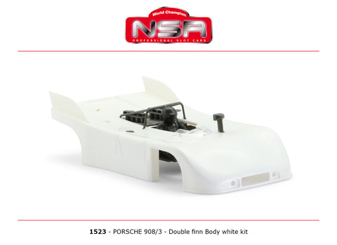 NSR-1523 Porsche 908/3 Body Kit (White)
