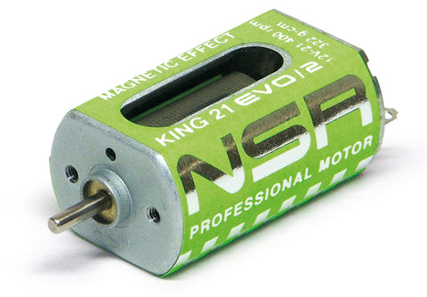 NSR-3022 King 21k EVO/2 Motor (21,400rpm, 322g*cm @ 12V long-can)