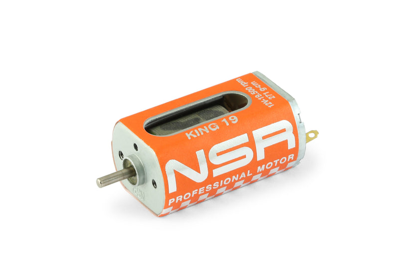 NSR-3031 King 19k EVO Motor (19,500rpm, 271g*cm @ 12V long-can)