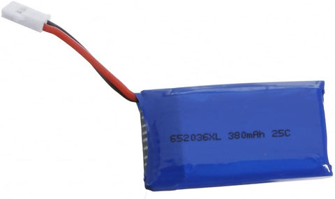 9imod 652036xl - 1S, 3.7V, 380mAh, 25C LiPo Rechargeable Battery