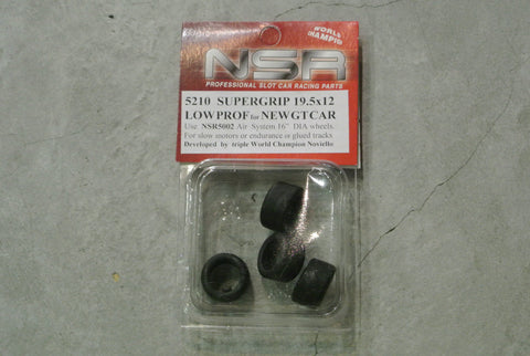 NSR-5210 Supergrip (19.5x12) Low profile (for new GT car)
