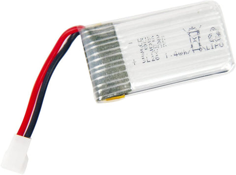 Hubsan H107-A24 - 1S, 3.7V, 380mAh LiPo Rechargeable Battery