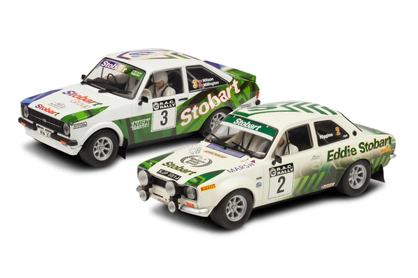 Scalextric C3369A - Eddie Stobart Ford Escort Twin Car Set