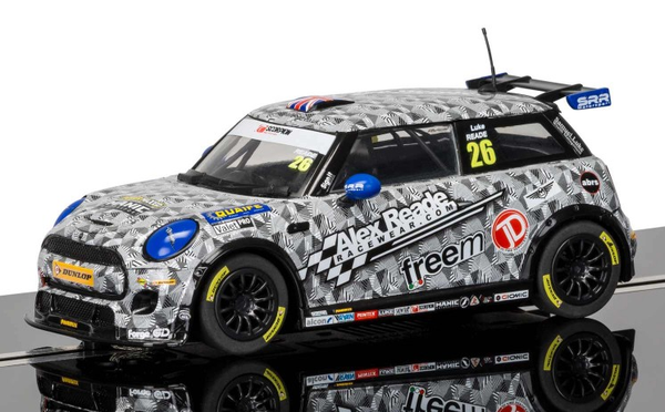 Scalextric C3873 - BMW Mini Cooper F56, Mini Challenge 2016 – Luke Reade