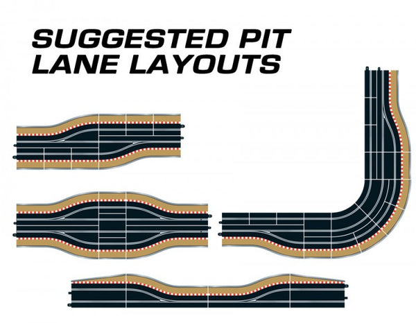 Scalextric C7014 - Digital Pit Lane, Left (1x)